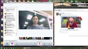 &quot;CheeChew|Google+team|DalaiLama|Hangout&quot;