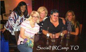 Some of the ladies of #SocialHRCamp Toronto
