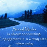 Social media engagement|two-way| Social media strategies