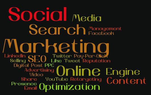 Search and Social Media TROOL Social Media cloud