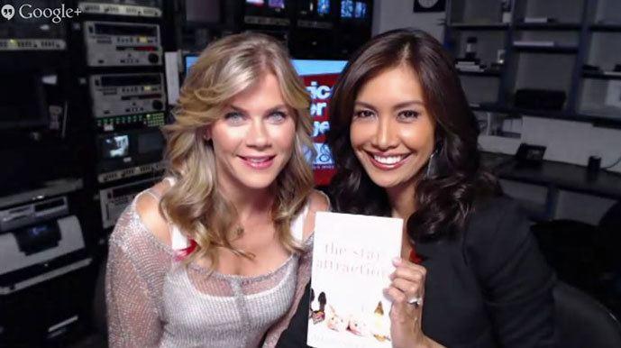 Alison Sweeney with Maria on Fox La